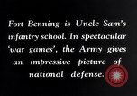 Image of US Army war practice before World War 2 Fort Benning Georgia USA, 1938, second 10 stock footage video 65675032863