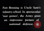 Image of US Army war practice before World War 2 Fort Benning Georgia USA, 1938, second 11 stock footage video 65675032863