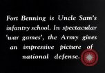 Image of US Army war practice before World War 2 Fort Benning Georgia USA, 1938, second 12 stock footage video 65675032863
