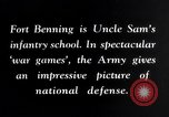 Image of US Army war practice before World War 2 Fort Benning Georgia USA, 1938, second 15 stock footage video 65675032863