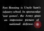 Image of US Army war practice before World War 2 Fort Benning Georgia USA, 1938, second 16 stock footage video 65675032863