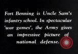 Image of US Army war practice before World War 2 Fort Benning Georgia USA, 1938, second 17 stock footage video 65675032863