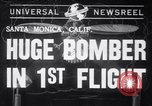 Image of First flight of the XB-19 bomber California USA, 1941, second 1 stock footage video 65675032894
