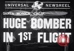 Image of First flight of the XB-19 bomber California USA, 1941, second 2 stock footage video 65675032894
