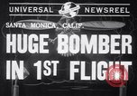 Image of First flight of the XB-19 bomber California USA, 1941, second 4 stock footage video 65675032894