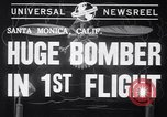 Image of First flight of the XB-19 bomber California USA, 1941, second 5 stock footage video 65675032894
