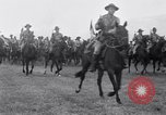 Image of parade Fort Riley Kansas USA, 1941, second 13 stock footage video 65675032897