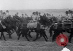 Image of parade Fort Riley Kansas USA, 1941, second 27 stock footage video 65675032897