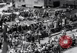 Image of cargo vessel Long Beach California USA, 1941, second 14 stock footage video 65675032898