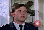 Image of Cadet Wing Commander Jack Catton United States USA, 1975, second 36 stock footage video 65675032908