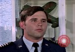 Image of Cadet Wing Commander Jack Catton United States USA, 1975, second 37 stock footage video 65675032908