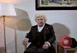 Image of Jacqueline Cochran talking of working with General Arnold Colorado United States USA, 1975, second 17 stock footage video 65675032925