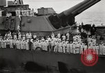 Image of General MacArthur and Admiral Nimitz ready to sign treaty with Japan Tokyo Bay Japan, 1945, second 52 stock footage video 65675032938