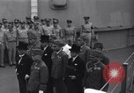 Image of peace treaty Tokyo Bay Japan, 1945, second 3 stock footage video 65675032942
