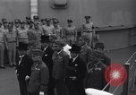 Image of peace treaty Tokyo Bay Japan, 1945, second 5 stock footage video 65675032942