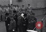 Image of peace treaty Tokyo Bay Japan, 1945, second 11 stock footage video 65675032942