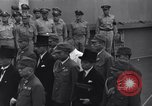 Image of peace treaty Tokyo Bay Japan, 1945, second 14 stock footage video 65675032942