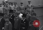 Image of peace treaty Tokyo Bay Japan, 1945, second 16 stock footage video 65675032942