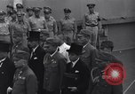 Image of peace treaty Tokyo Bay Japan, 1945, second 17 stock footage video 65675032942