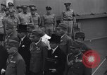 Image of peace treaty Tokyo Bay Japan, 1945, second 19 stock footage video 65675032942