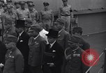 Image of peace treaty Tokyo Bay Japan, 1945, second 20 stock footage video 65675032942