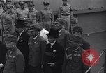 Image of peace treaty Tokyo Bay Japan, 1945, second 21 stock footage video 65675032942