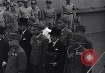 Image of peace treaty Tokyo Bay Japan, 1945, second 28 stock footage video 65675032942