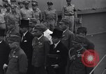 Image of peace treaty Tokyo Bay Japan, 1945, second 29 stock footage video 65675032942