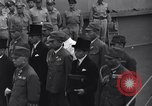 Image of peace treaty Tokyo Bay Japan, 1945, second 31 stock footage video 65675032942