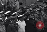 Image of peace treaty Tokyo Bay Japan, 1945, second 34 stock footage video 65675032942
