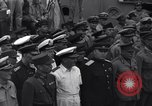 Image of peace treaty Tokyo Bay Japan, 1945, second 35 stock footage video 65675032942