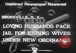 Image of new traffic law Bronxville New York USA, 1933, second 4 stock footage video 65675032947