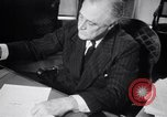 Image of France signs surrender to Germany in railroad car Compiegne France, 1940, second 28 stock footage video 65675032954