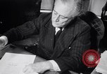 Image of France signs surrender to Germany in railroad car Compiegne France, 1940, second 30 stock footage video 65675032954