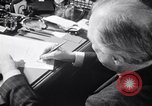 Image of France signs surrender to Germany in railroad car Compiegne France, 1940, second 31 stock footage video 65675032954