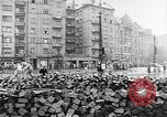 Image of Hungarian Revolution barricades Hungary, 1956, second 46 stock footage video 65675033229