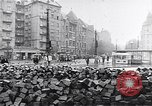 Image of Hungarian Revolution barricades Hungary, 1956, second 47 stock footage video 65675033229