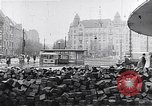 Image of Hungarian Revolution barricades Hungary, 1956, second 49 stock footage video 65675033229