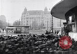 Image of Hungarian Revolution barricades Hungary, 1956, second 50 stock footage video 65675033229