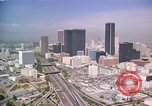 Image of skyscrapers Los Angeles California USA, 1976, second 1 stock footage video 65675033250