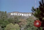 Image of Hollywood sign Hollywood Los Angeles California USA, 1976, second 8 stock footage video 65675033261