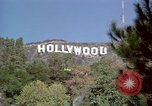 Image of Hollywood sign Hollywood Los Angeles California USA, 1976, second 10 stock footage video 65675033261