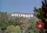 Image of Hollywood sign Hollywood Los Angeles California USA, 1976, second 11 stock footage video 65675033261