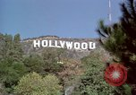 Image of Hollywood sign Hollywood Los Angeles California USA, 1976, second 13 stock footage video 65675033261