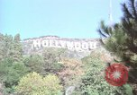 Image of Hollywood sign Hollywood Los Angeles California USA, 1976, second 14 stock footage video 65675033261