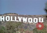 Image of Hollywood sign Hollywood Los Angeles California USA, 1976, second 22 stock footage video 65675033261