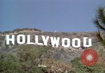 Image of Hollywood sign Hollywood Los Angeles California USA, 1976, second 23 stock footage video 65675033261