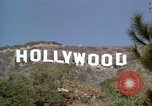 Image of Hollywood sign Hollywood Los Angeles California USA, 1976, second 24 stock footage video 65675033261