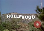 Image of Hollywood sign Hollywood Los Angeles California USA, 1976, second 25 stock footage video 65675033261