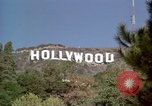 Image of Hollywood sign Hollywood Los Angeles California USA, 1976, second 26 stock footage video 65675033261